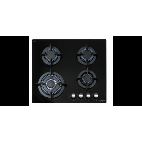 Placa Cristal Gas Cata CCI 6031 BK