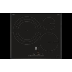 INDUCCION BALAY 3EB967LU Encastrable  60 cm  3  Negra-Biselada  Control Deslizante  zona de 32 cm  control