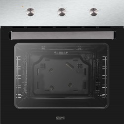 HORNO KROMS KHI-400-S A 2.200W 70L Doble Grill